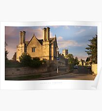 Chipping Campden, Cotswolds Poster