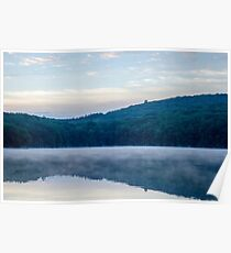 Reservoir at Sunrise 2 Poster