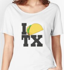 TACO TEXAS Women's Relaxed Fit T-Shirt