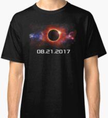August 21 2017 Total Solar Eclipse Cool Fun Galaxy Design Classic T-Shirt
