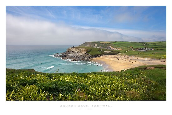 Church Cove, Cornwall by Andrew Roland