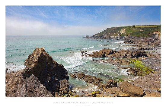 Halzephron Cove, Cornwall by Andrew Roland