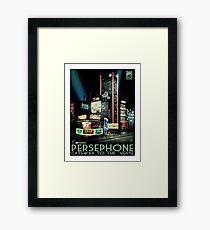 Persephone Framed Print