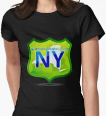 New York Edumacation Womens Fitted T-Shirt