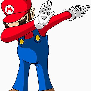 Iphone dabbing mario by NoWy