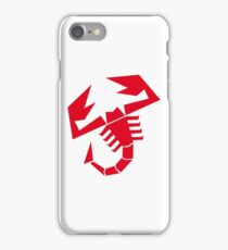 Abarth Scorpion Red iPhone Case/Skin