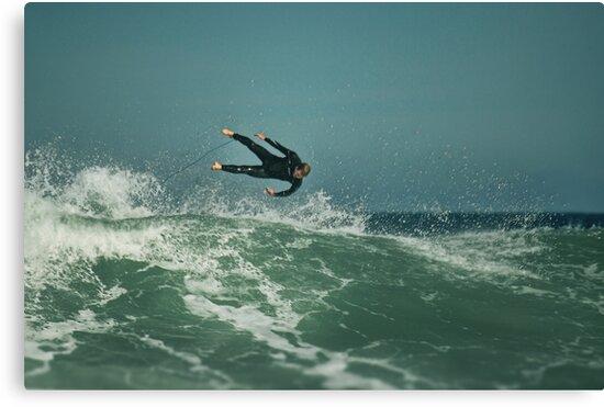 Wetsuit Icarus by Peter Kurdulija