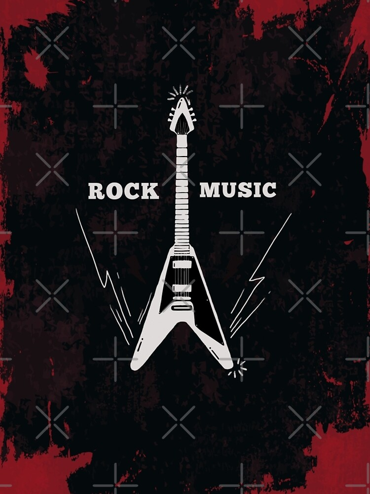 Lets Rock | Rock Music Art by CarlosV