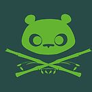 Panda Jolly Roger by ElinoreG