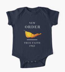 New Order Joy Division shirt True Faith  One Piece - Short Sleeve