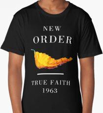 New Order Joy Division shirt True Faith  Long T-Shirt