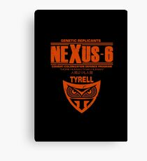 Nexus 6 - Blade Runner - Tyrell Canvas Print