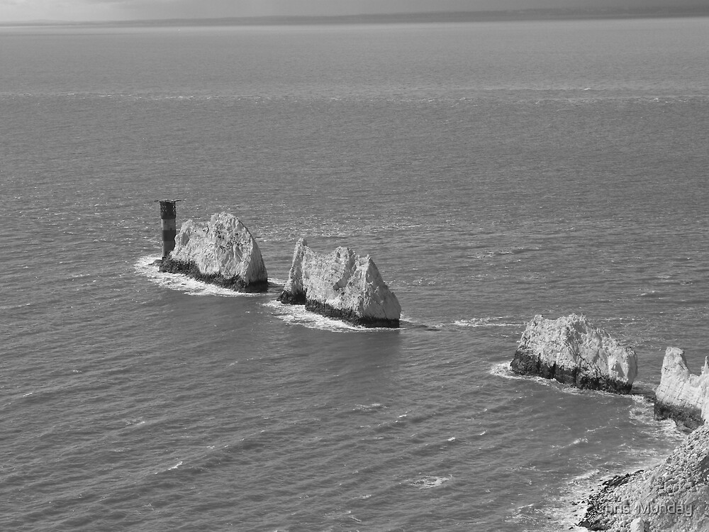 The Needles (2) by Chris  Munday