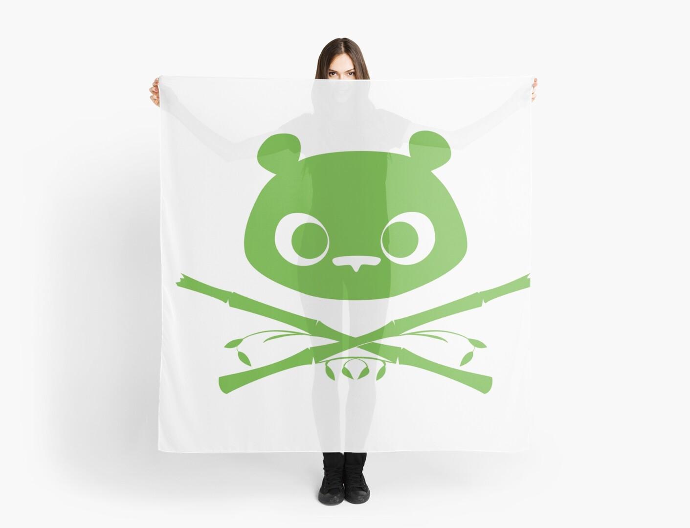 Panda Jolly Roger by ElinoreG