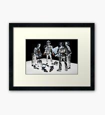How many Cybermen... Framed Print