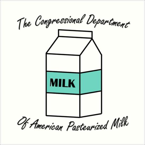 American Milk Department 2 by MiaNotMaya