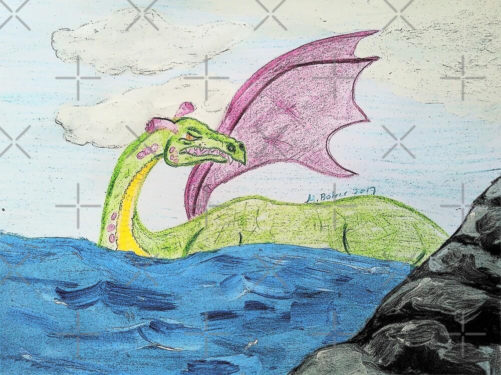 Sky-Inspired Dragon by Mel Bohrer