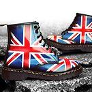 Union Jack Custom Dr. Martens by Corbin Adler