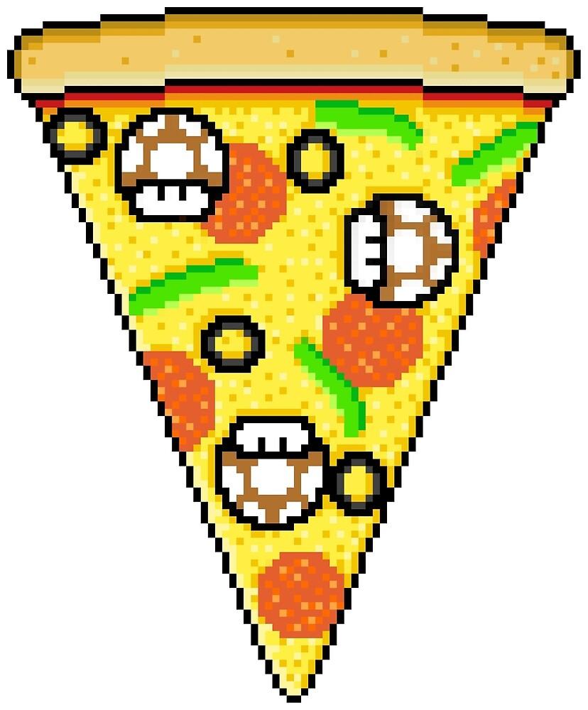 Mushroom pizza by Rilly579