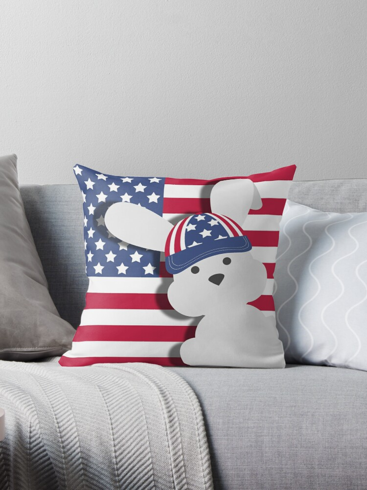 INDEPENDENCE DAY BUNNY by AbsentisDesigns
