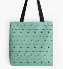 Treasure Hunt Pattern Tote Bag