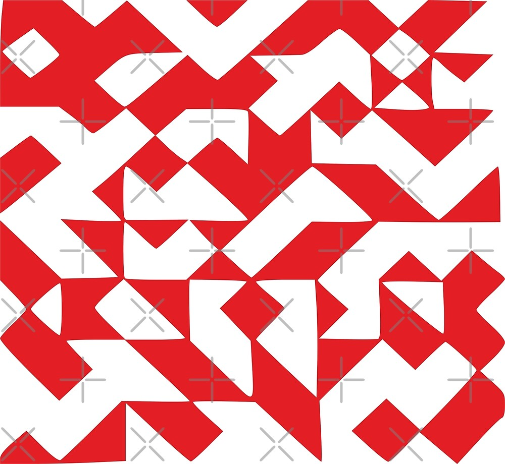 Geometric red by graph-fix
