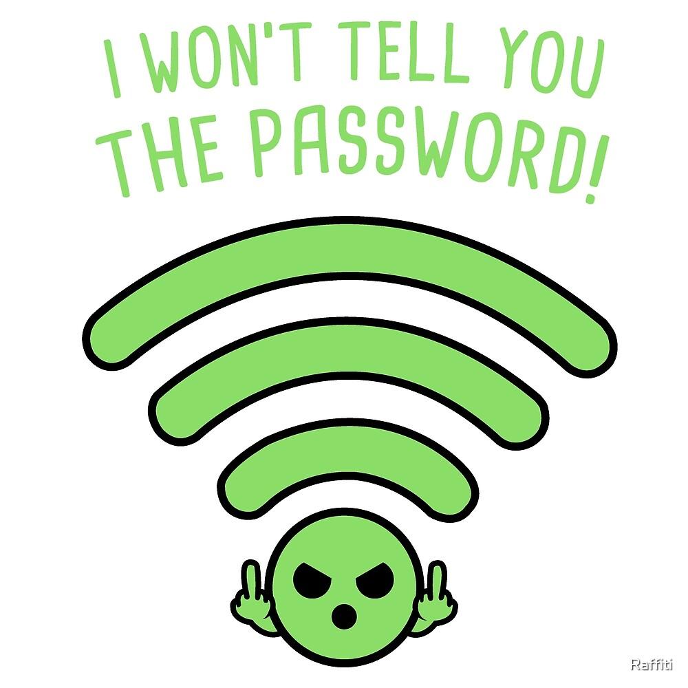 Password! by Raffiti