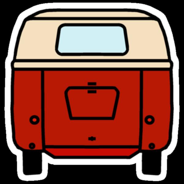 VW Barndoor Kombi Rear by frenzix