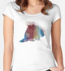 Porcupine  Women's Fitted Scoop T-Shirt