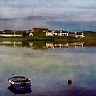 Dusk at Port Ellen by Kasia-D