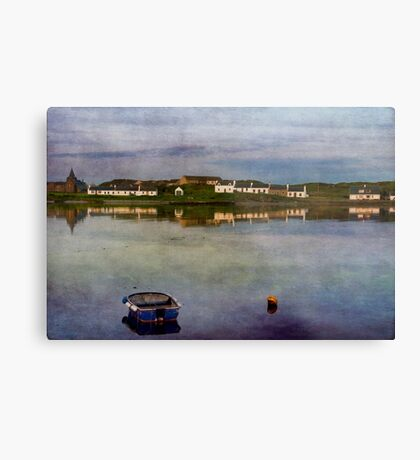 Dusk at Port Ellen Metal Print