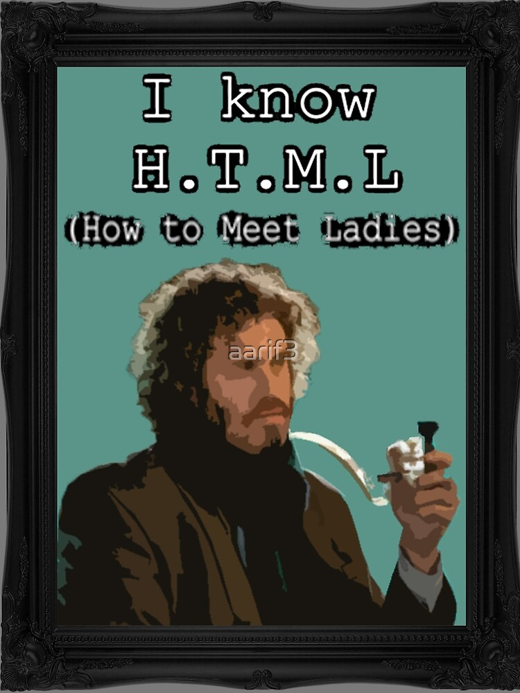 I know HTML by aarif3