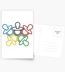 Olympia Schnuller Postkarten