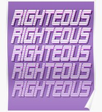 Righteous Poster