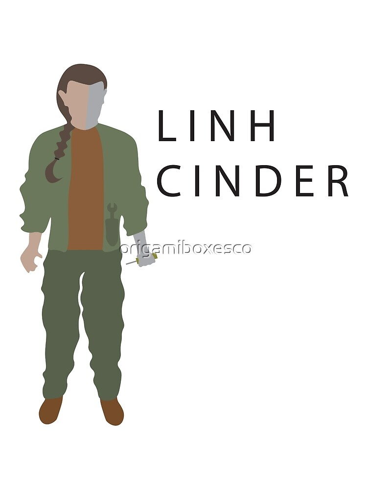 Linh Cinder - The Lunar Chronicles by origamiboxesco