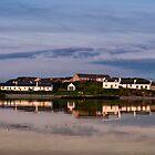 Islay: Dusk at Port Ellen by Kasia-D