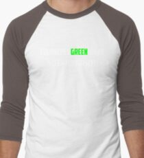 NLP: Noam Chomsky Colorless Green Ideas Sleep Furiously  Men's Baseball ¾ T-Shirt