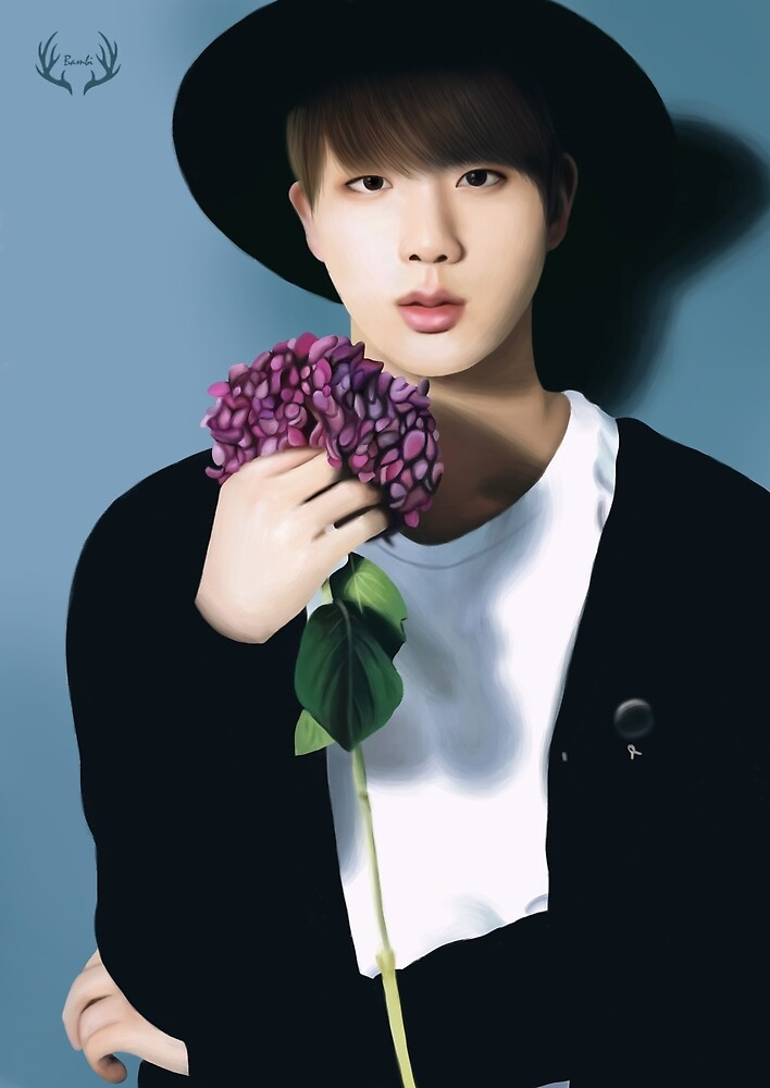Jin Flower Series by Yunhosbambi