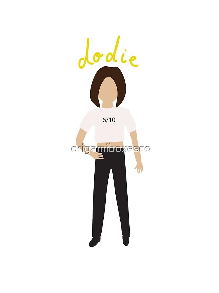 Dodie Clark - 6/10 Shirt Design by origamiboxesco