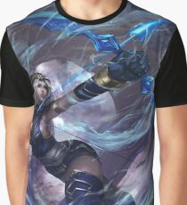 League of Legends Ashe / Custom Ashe Art Graphic T-Shirt