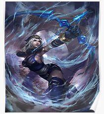 League of Legends Ashe / Custom Ashe Art Poster