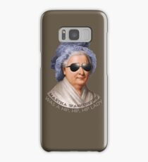 Martha Washington was a hip lady - Patriotic hipster - Dazed and Confused Samsung Galaxy Case/Skin