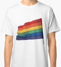 Gay Flag on Transparent background Classic T-Shirt