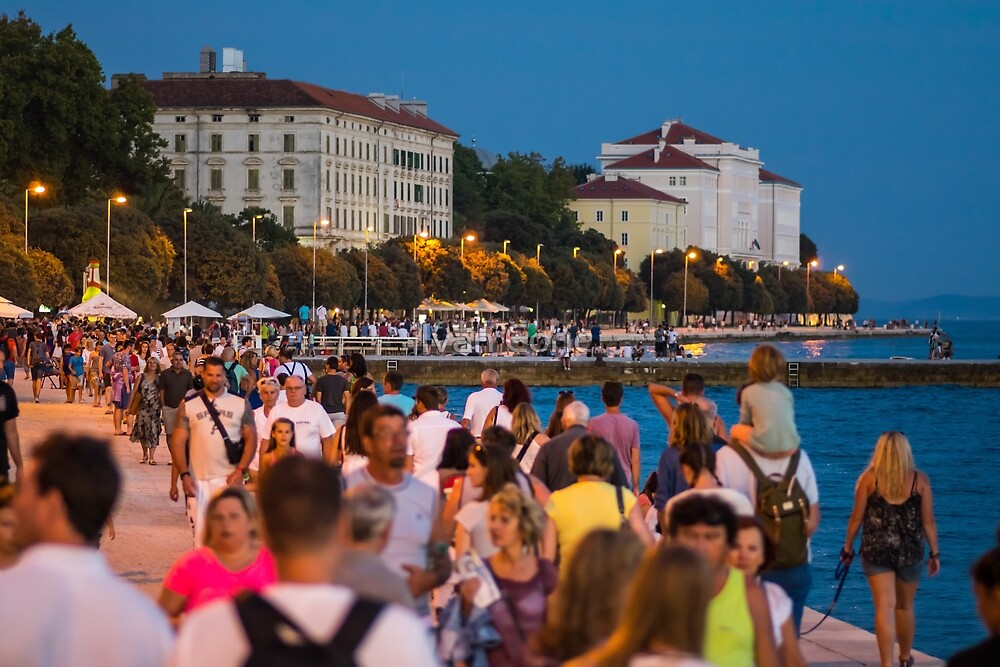 Evning in Zadar by Ivan Coric