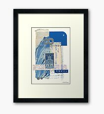 Equal Footing Framed Print
