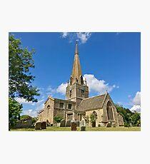 England - Oxfordshire - Bampton - St. Mary's Church Photographic Print