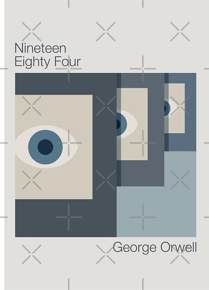 1984 Minimalist Alternate Book Cover by WASABISQUID