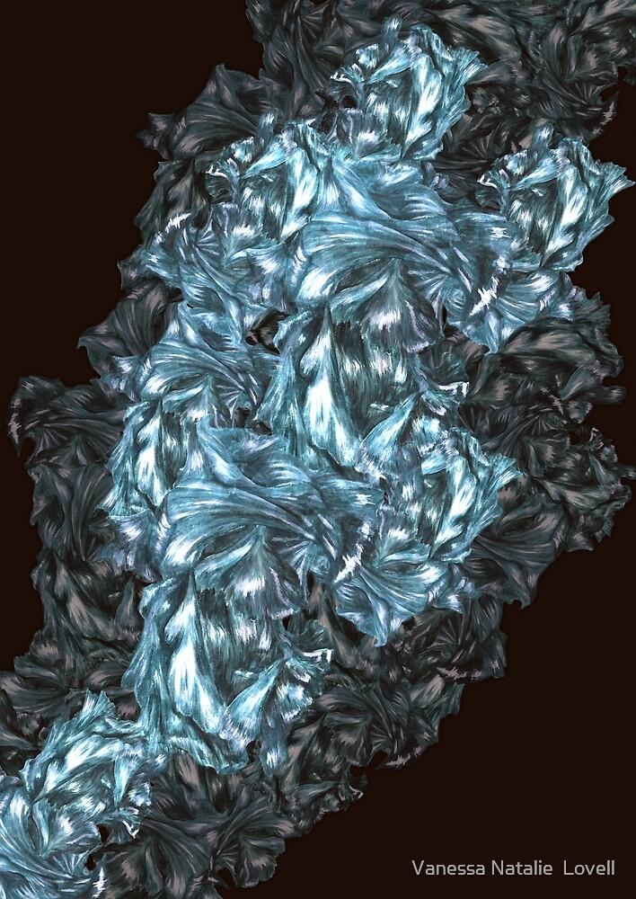 Flowering crystal  by Vanessa Natalie  Lovell