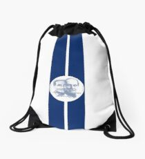 Legends of American Motor Racing Drawstring Bag