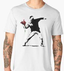 Banksy Flower Thrower Men's Premium T-Shirt